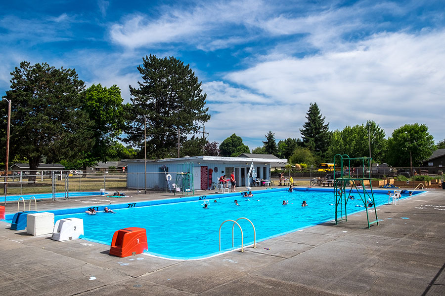 Located On The Edge Of Independence Small Town Pool Is Operated By Local YMCA It Open To Public Throughout Summer Photo Store