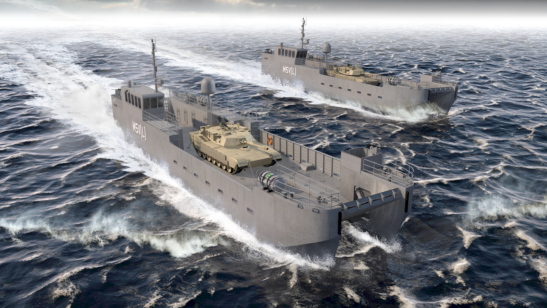 Vigor landing craft