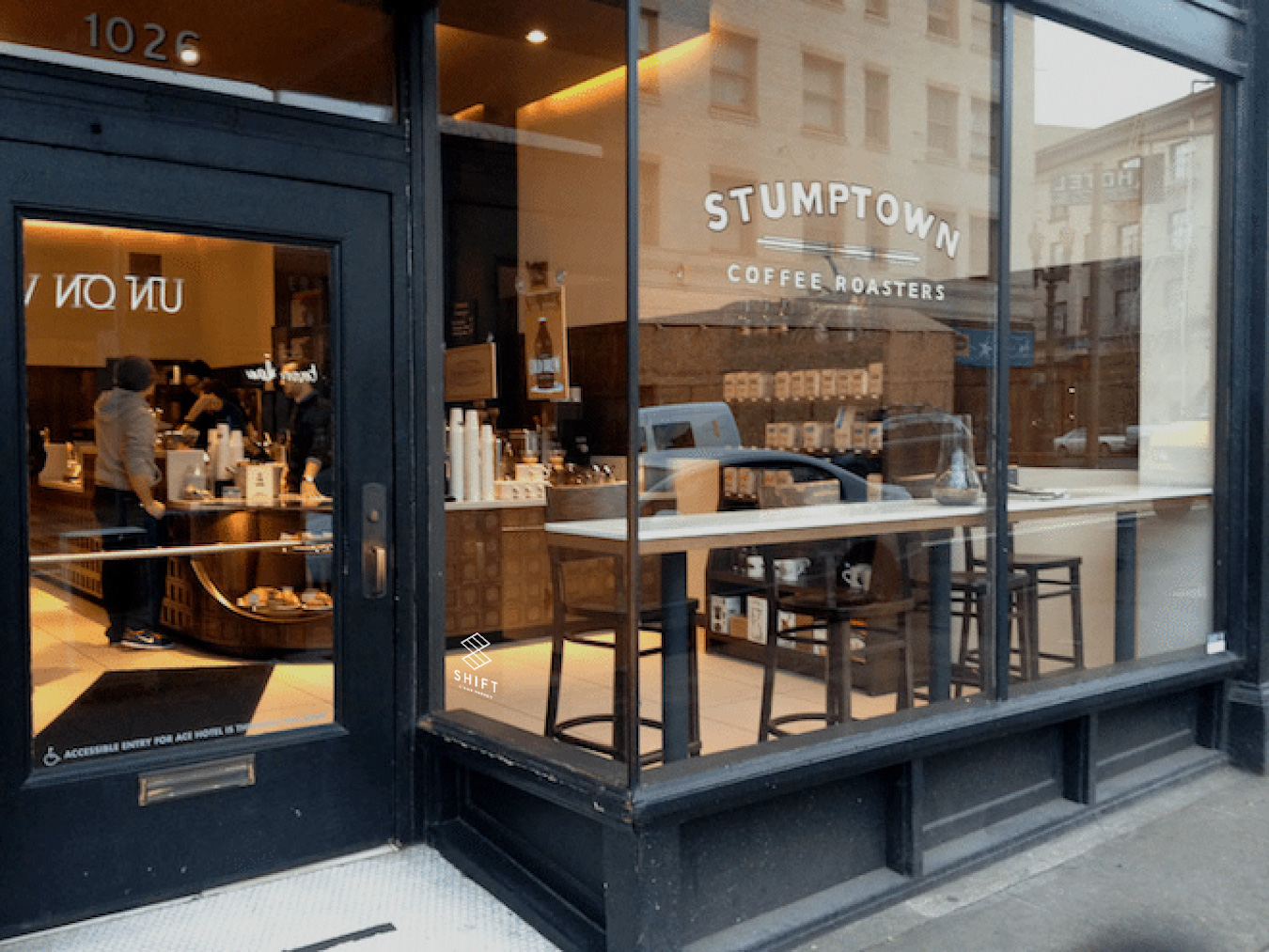 Shift x Stumptown Cafe