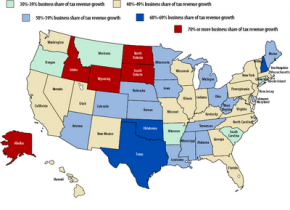 Business tax map