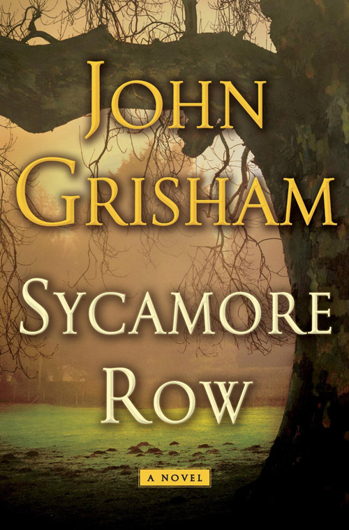 Books Sycamore Row - cover art of hardcover book by John Grisham
