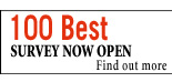 100 Best Survey now open