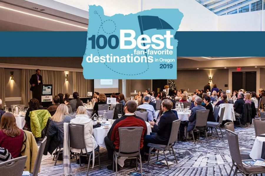 "2019 100 Best ""Fan-Favorite"" Destinations in Oregon Awards Luncheon"
