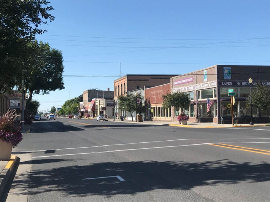 New retail and hospitality businesses have rejuvenated the main street of Burns in Eastern Oregon