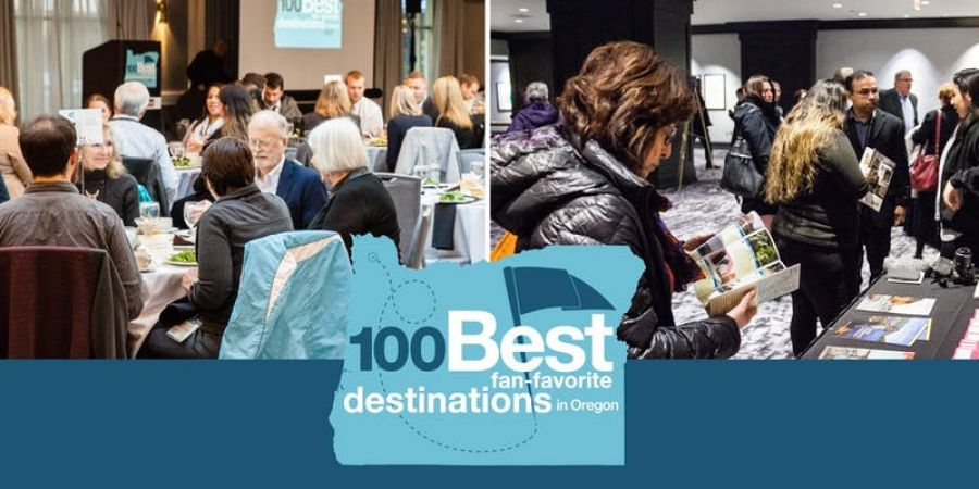 "2020 100 Best ""Fan-Favorite"" Destinations in Oregon awards luncheon AND ""They said what?"": Online-review reputation seminar"