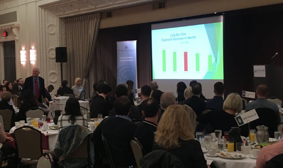 On the Scene: John Mitchell delivers 2018 economic forecast