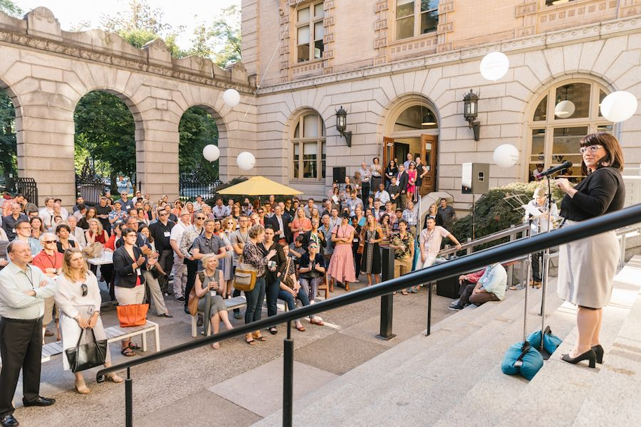 An event hosted by Business for a Better Portland at WeWork Customs House