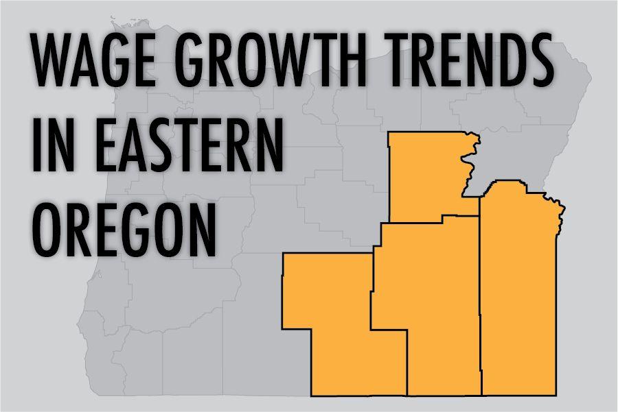 Salary increases highest in eastern Oregon