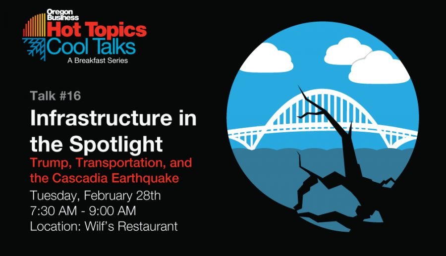 Hot Topics/Cool Talks: Infrastructure in the Spotlight