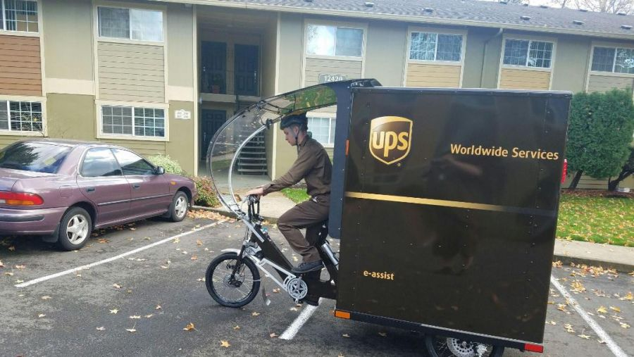 News release: UPS launches first eBike in Portland