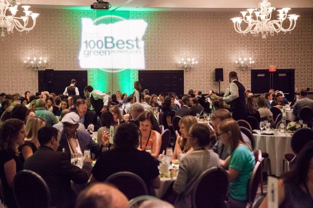 On the scene: 100 Best Green Workplaces awards