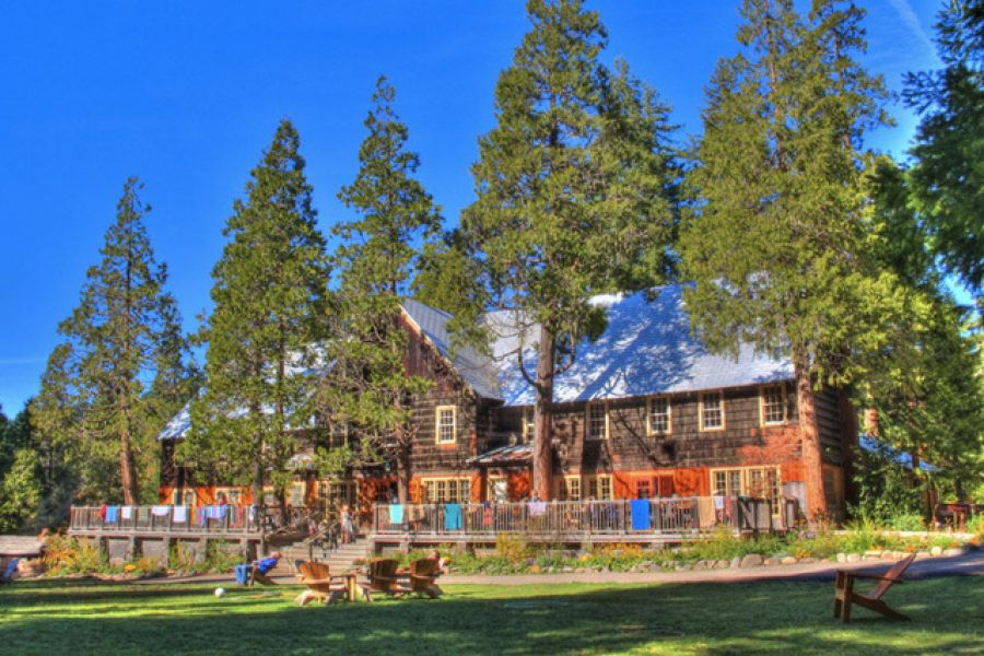 The lodge at Breitenbush Hot Springs Retreat and Conference Center