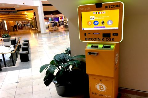 Video: Bitcoin ATM returns to Pioneer Place