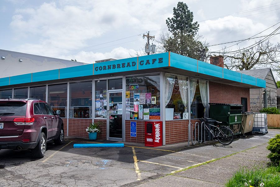 The Cornbread Cafe in Eugene