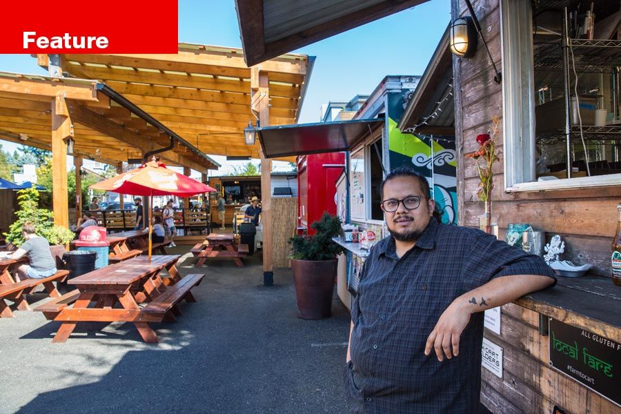 Deepak Saxena opened DesiPDX food cart after 20 years working in the tech sector.