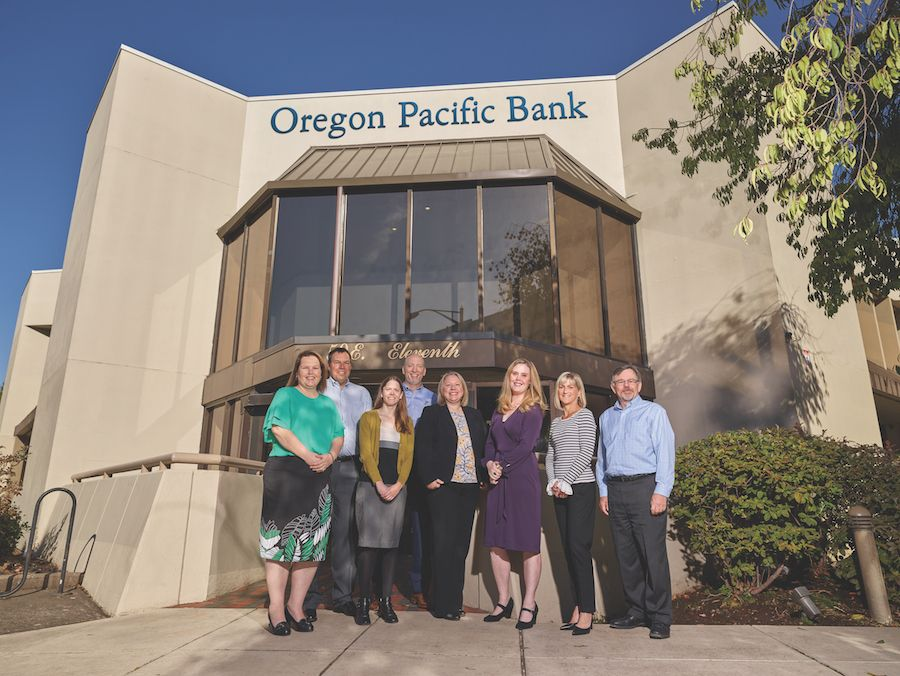 The Eugene branch of Oregon Pacific Bank is serving up its special brand of community banking, with expanded staff and a remodeled building.