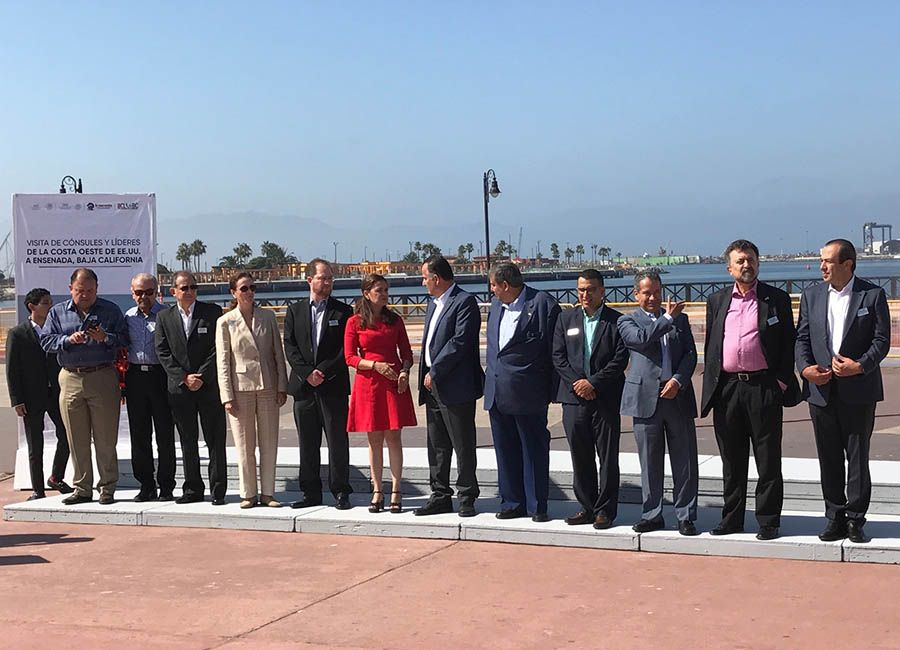 Mexico's West Coast consular delegation, Ventana al Mar waterfront park, Ensenada