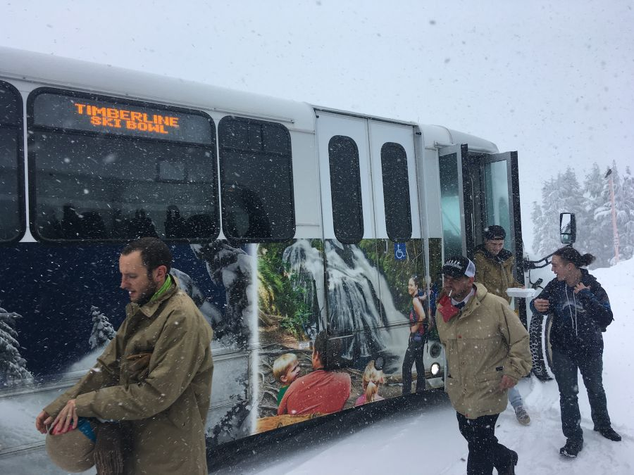 The Bus is Back: The Mount Hood Loop