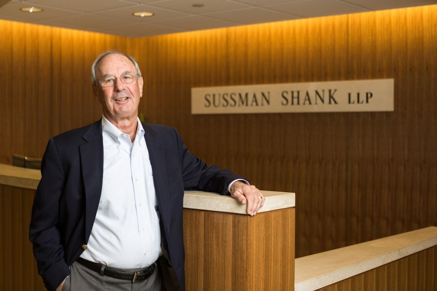 Lawyer, Barry Caplan, celebrates 50 years at Sussman Shank LLP.