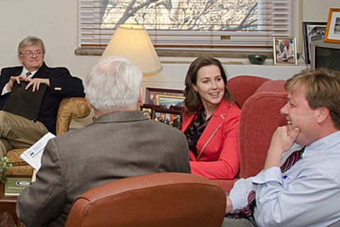 Cylvia Hayes meeting with USDA in 2012.