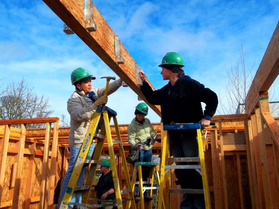 100 Best Green Snapshot: Willamette West Habitat for Humanity