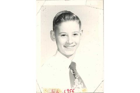 President Ed Ray as a young man (1956)