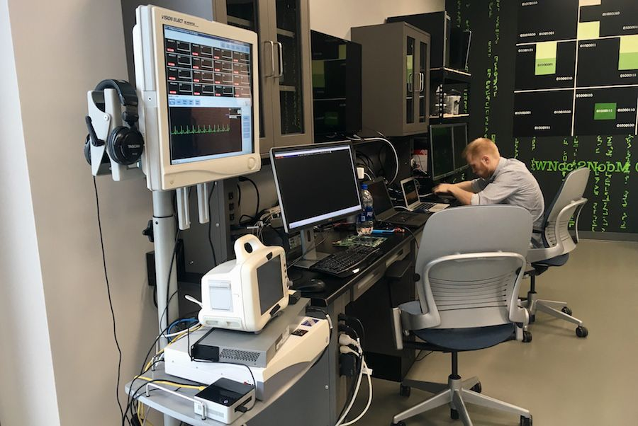 a researcher in McAfee's cyber security advanced threat research lab