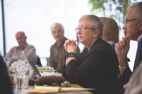 Foundations for a Better Oregon board member Martha Richards, of the James F. and Marion L. Miller Foundation