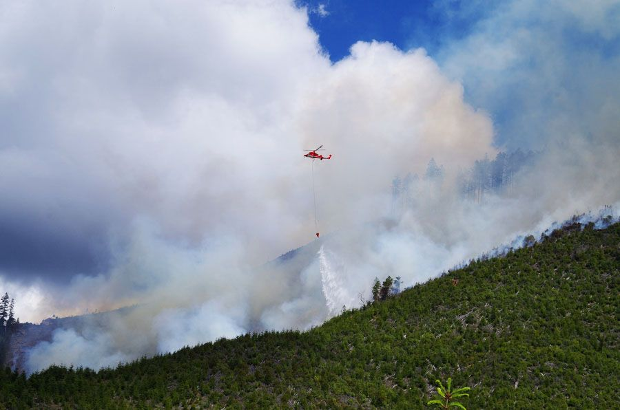 Wildfire season slow to heat up