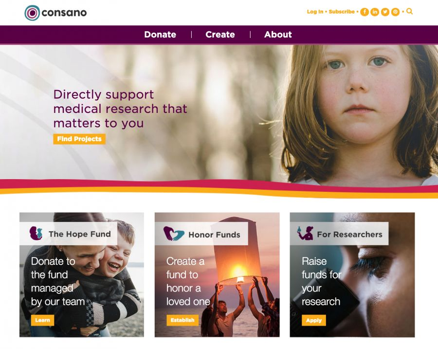 News release: Consano launches new medical research crowdfunding platform