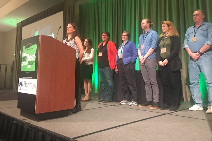 Celebrating the 100 Best Green Workplaces in Oregon