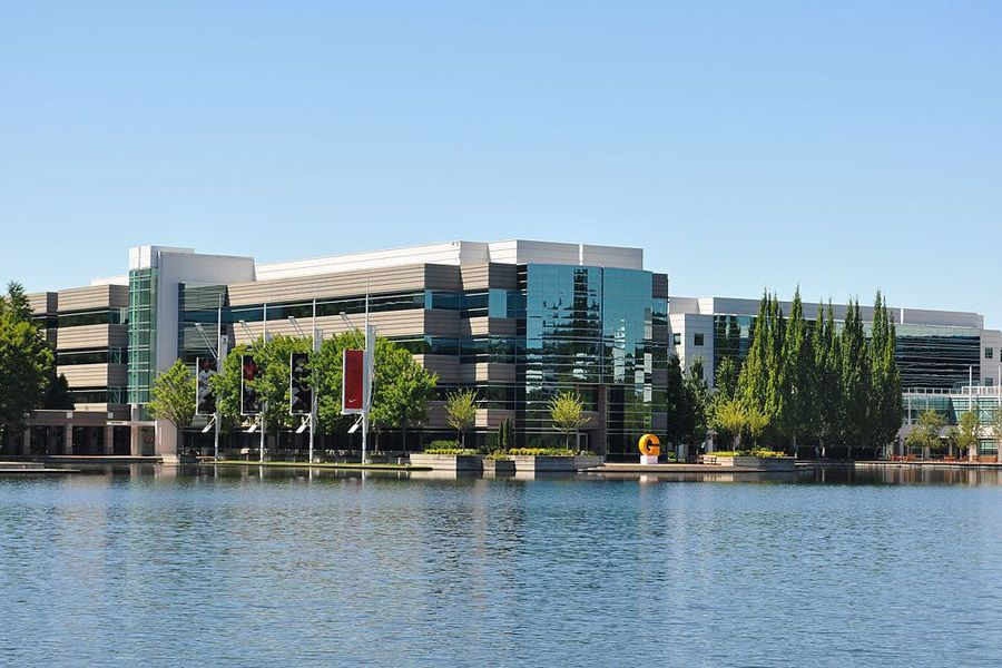 Nike headquarters in Beaverton, Oregon