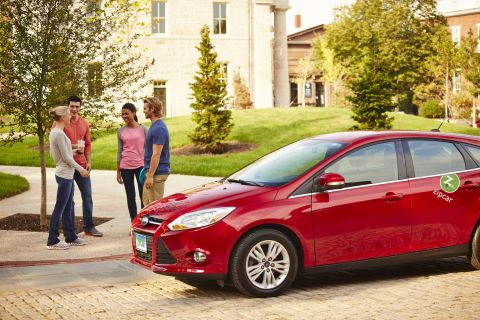OSU partners with Zipcar to offer car sharing on campus