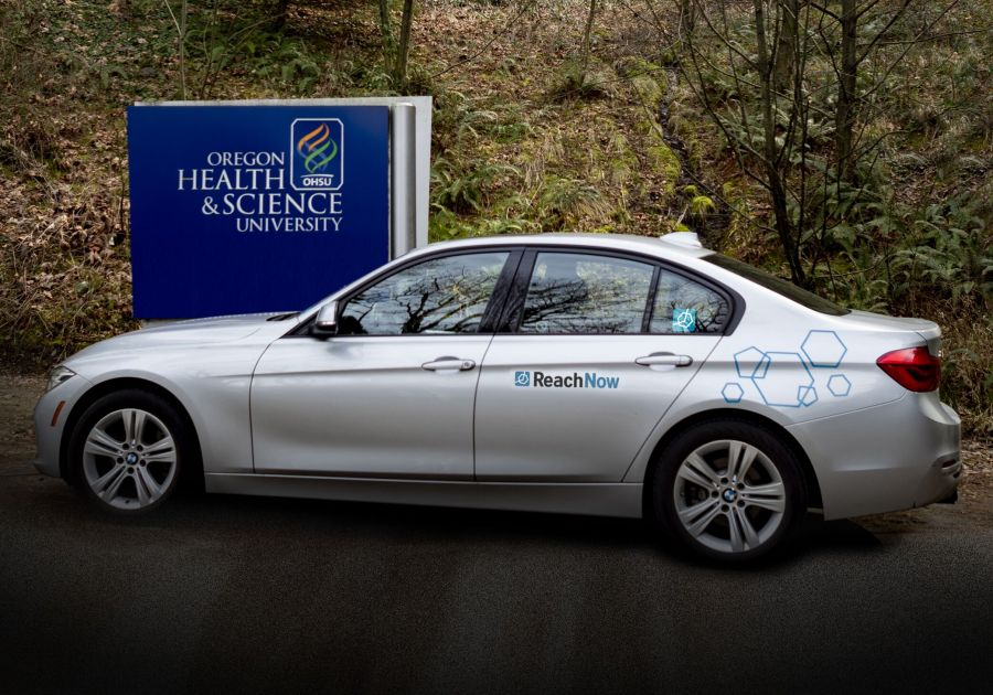 OHSU Tries Out Employee Car-Sharing