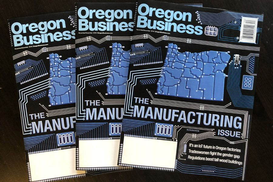 The Cover Story: It's an IoT future in Oregon factories