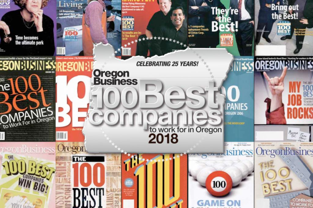 Oregon Business - The 2018 100 Best Companies to Work for in